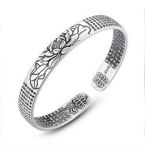 Jewelry - Lotus Flower vintage inspired bracelet